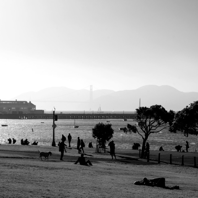 """San Francisco Bay"" stock image"