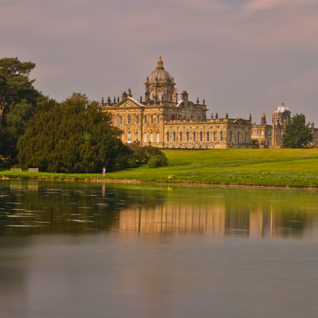 """Castle Howard"" stock image"