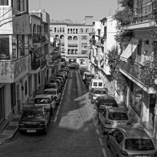 """""""Calle Juan XXIII"""" stock image"""