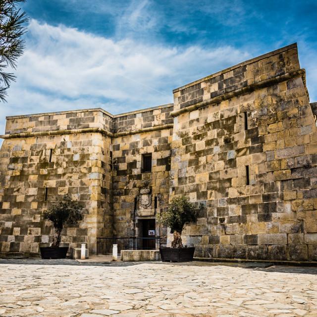 """""""Castillo De Moraira"""" stock image"""