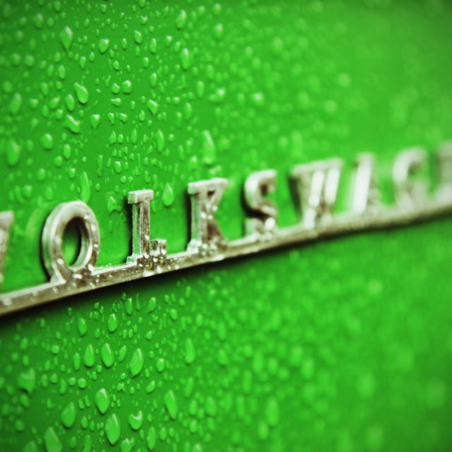 """""""Volkswagen Logo"""" stock image"""