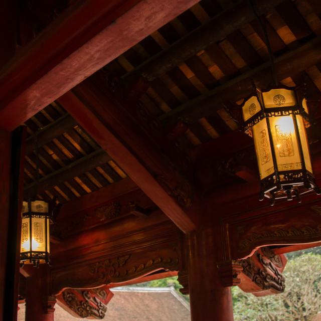 """""""Lanterns and Beams"""" stock image"""
