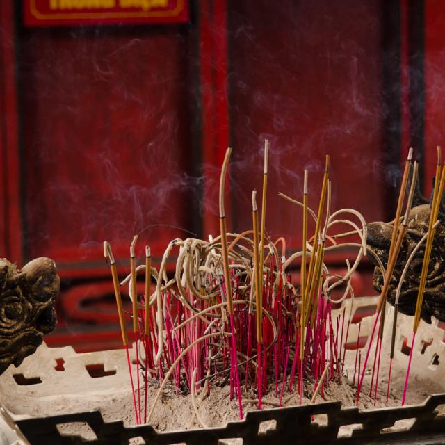 """Incense sticks"" stock image"