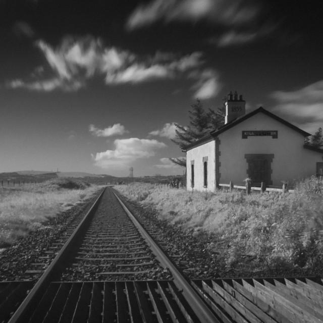 """Railway Lines."" stock image"