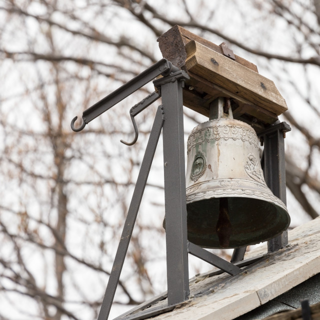 """""""small bell in the woods"""" stock image"""