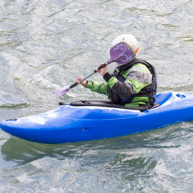 """""""rafting in the river"""" stock image"""
