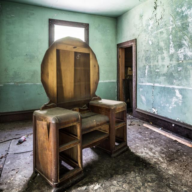 """Forgotten Rooms"" stock image"