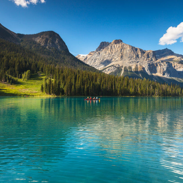 """Emerald Lake"" stock image"
