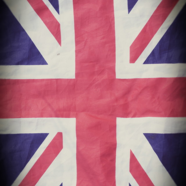"""Union Jack Flag"" stock image"