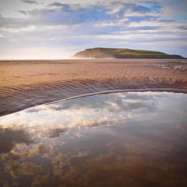 """Beach landscape"" stock image"