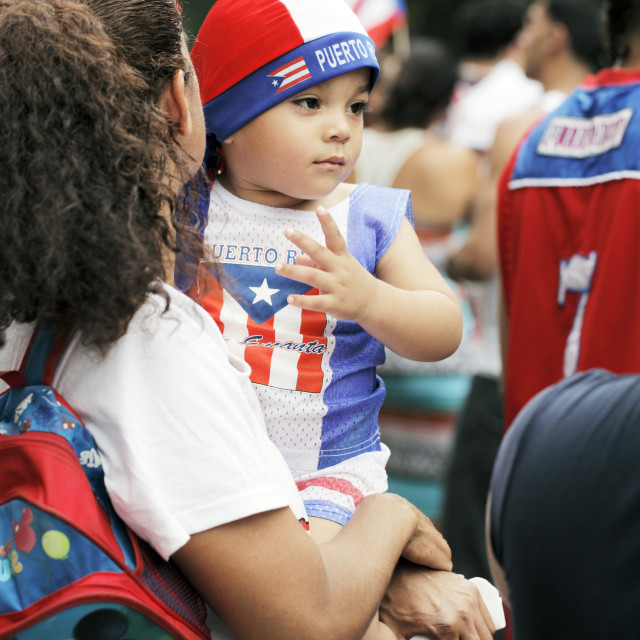 """Puerto Rican Day"" stock image"