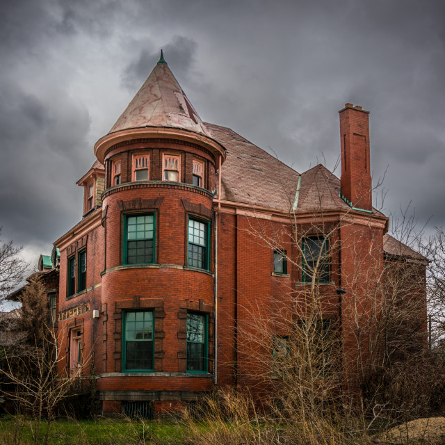 """""""Abandoned Home"""" stock image"""