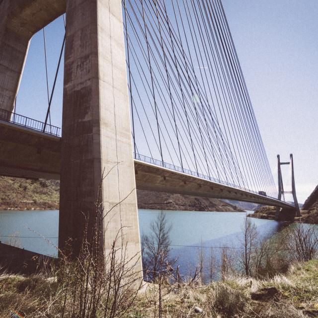 """Highway bridge"" stock image"