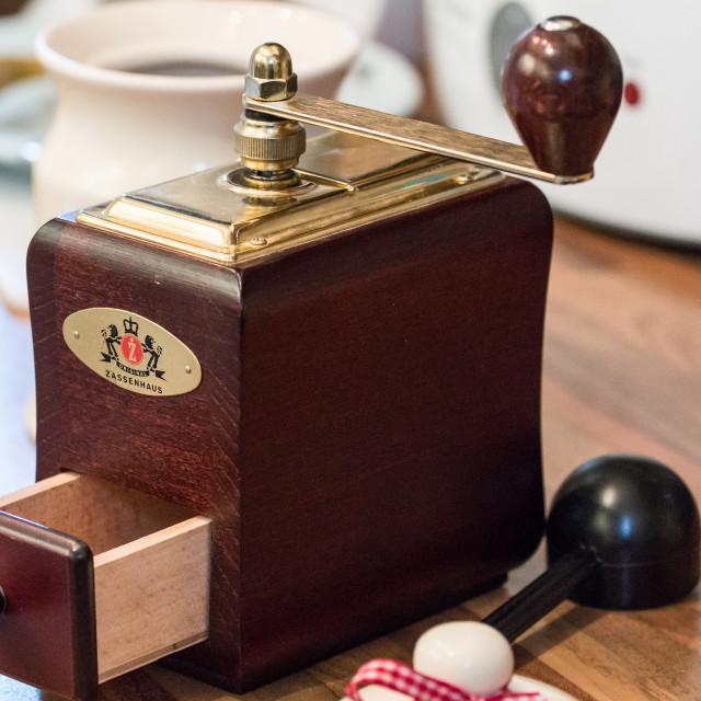 """Zassenhaus coffee mill"" stock image"