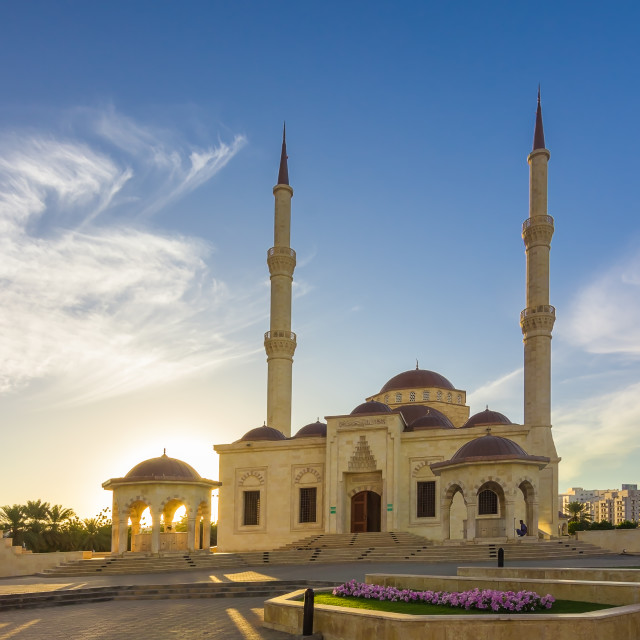 """TAIMUR MOSQUE"" stock image"
