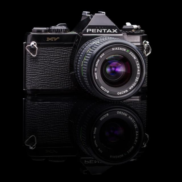 """Pentax Analog Camera"" stock image"
