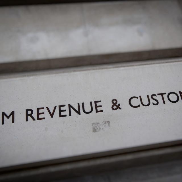 """HM Revenue & Customs Building"" stock image"
