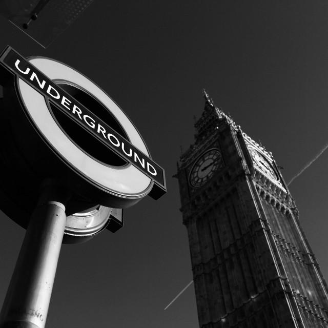 """Underground"" stock image"