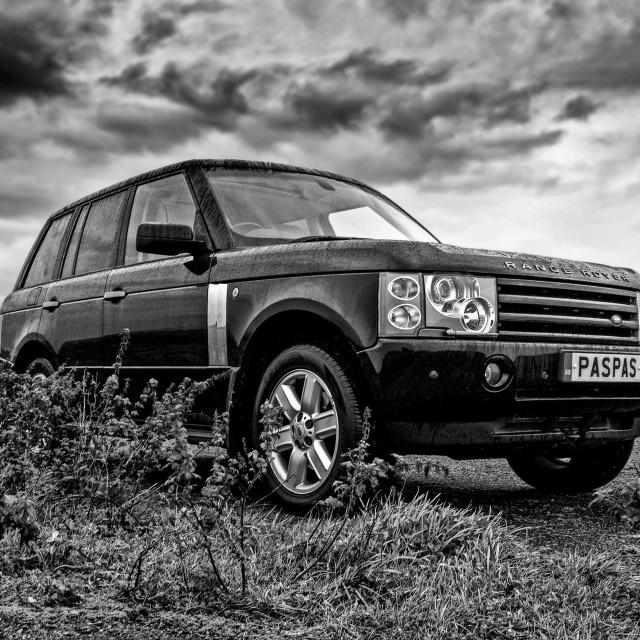 """""""Range Rover L322 Mk2"""" stock image"""