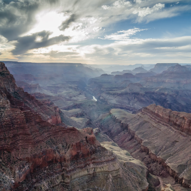 """Lipan Point - Grand Canyon - Colour"" stock image"