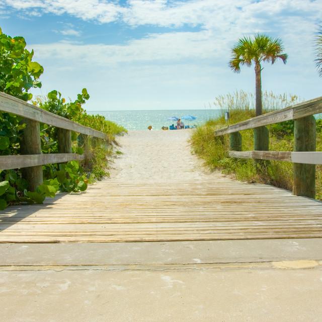 """Beach Access"" stock image"