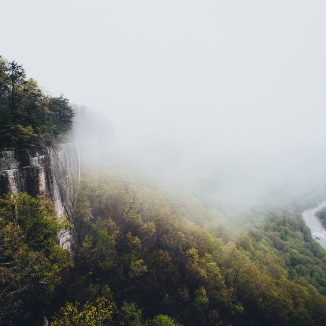 """""""New River Gorge Valley"""" stock image"""