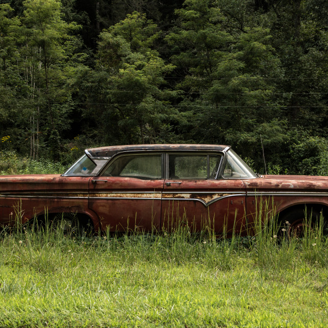 """Rusting Car"" stock image"