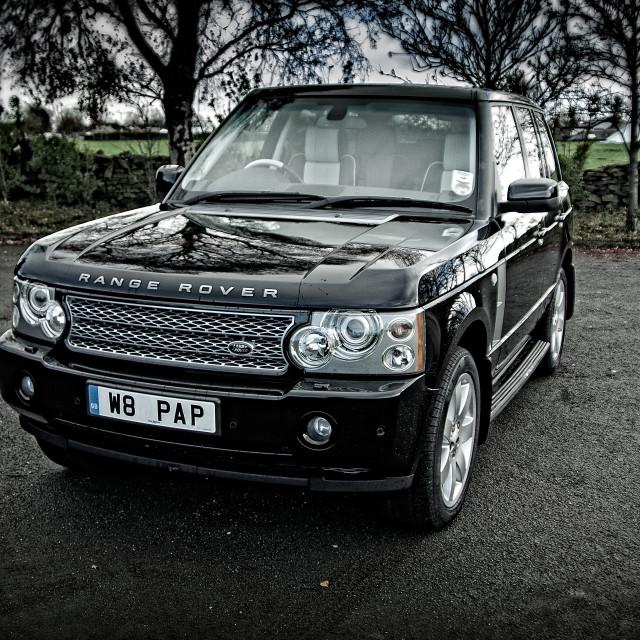 """""""Range Rover L322 Mk3"""" stock image"""