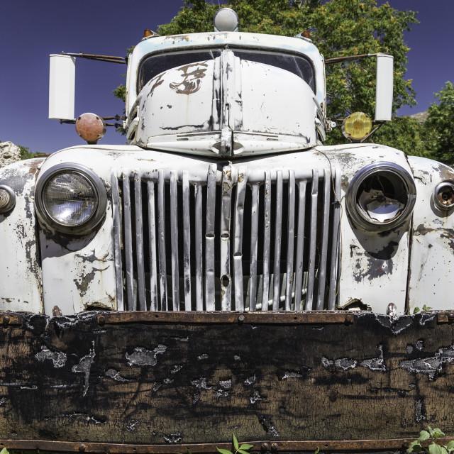 """Vintage Truck"" stock image"