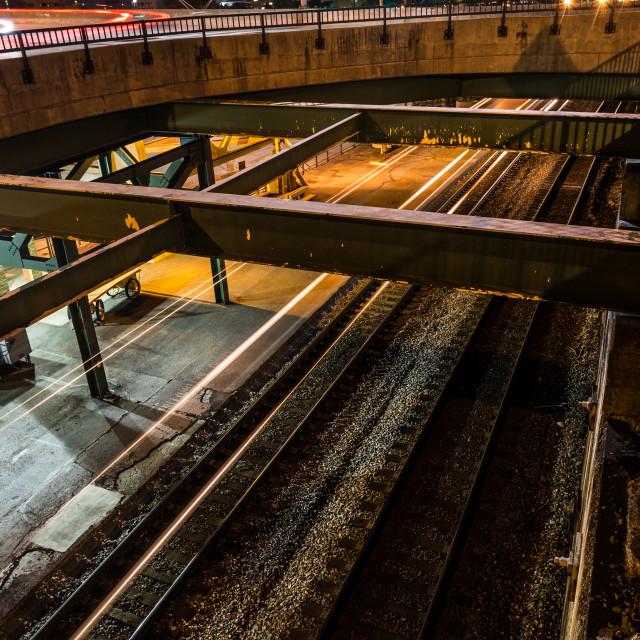"""Passing Train II"" stock image"
