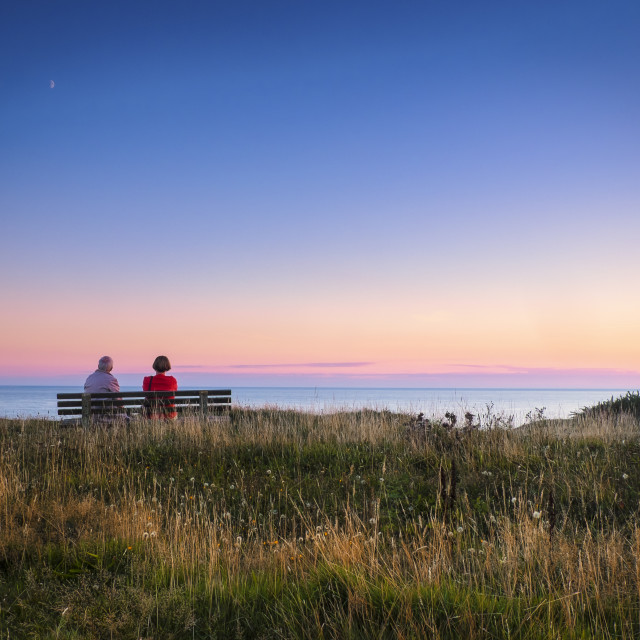 """Sunset of Life"" stock image"