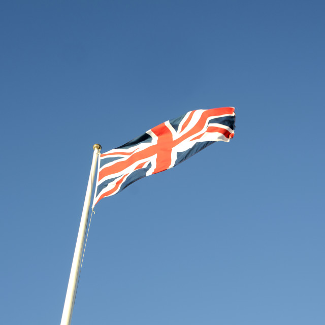 """British Flag"" stock image"