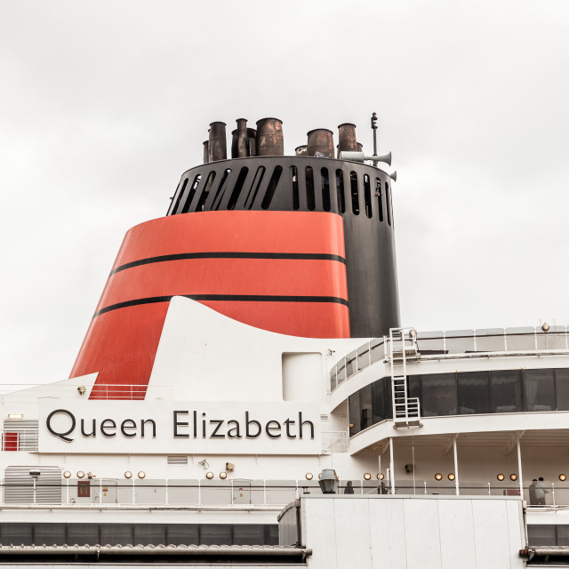 """Queen Elizabeth"" stock image"