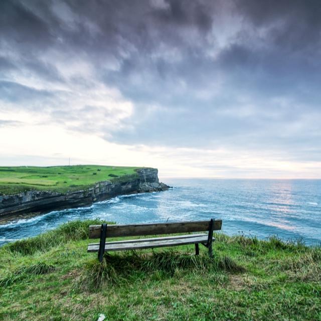 """Seat towards Eden"" stock image"