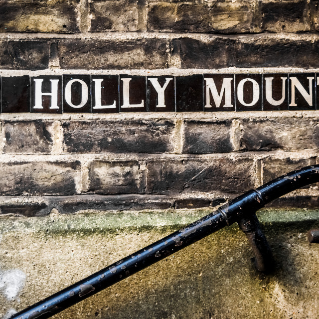 """""""To Holly Mount in Hamstead Heath"""" stock image"""