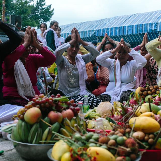 """Ponagar festival"" stock image"