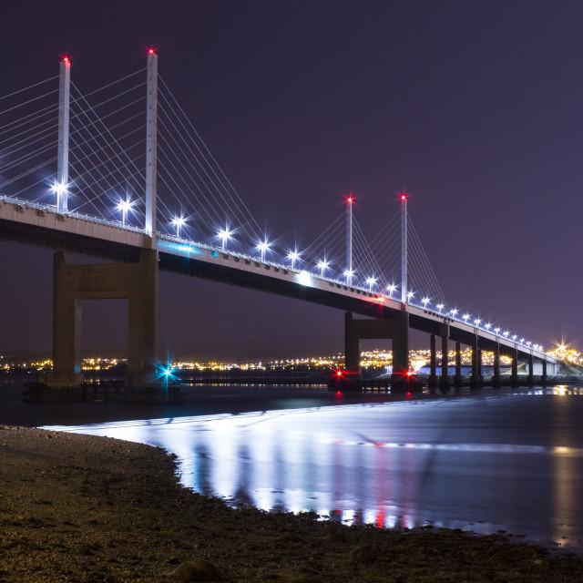 """Kessock Bridge"" stock image"