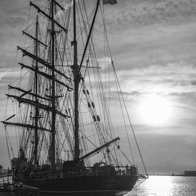 """Elissa Tall Ship"" stock image"