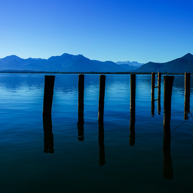 """""""Chiemsee Tales"""" stock image"""