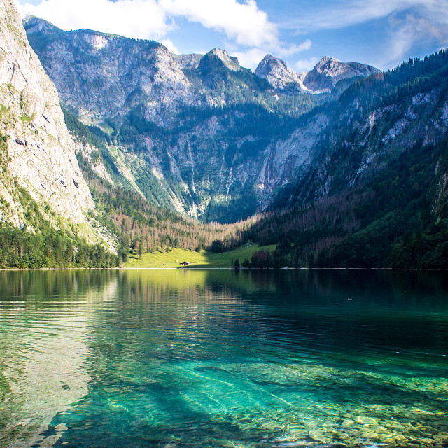 """Königssee, Germany"" stock image"