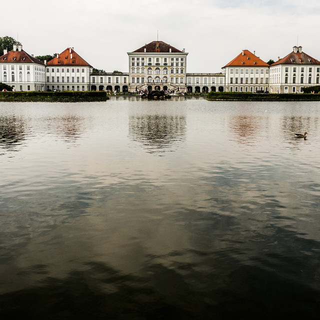 """Nymphenburg Palace"" stock image"