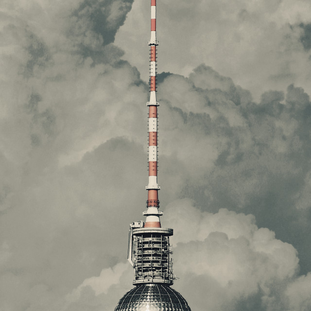 """TV Tower of Berlin"" stock image"