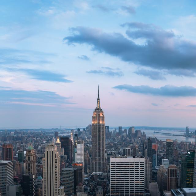 """""""New York Panorama"""" stock image"""