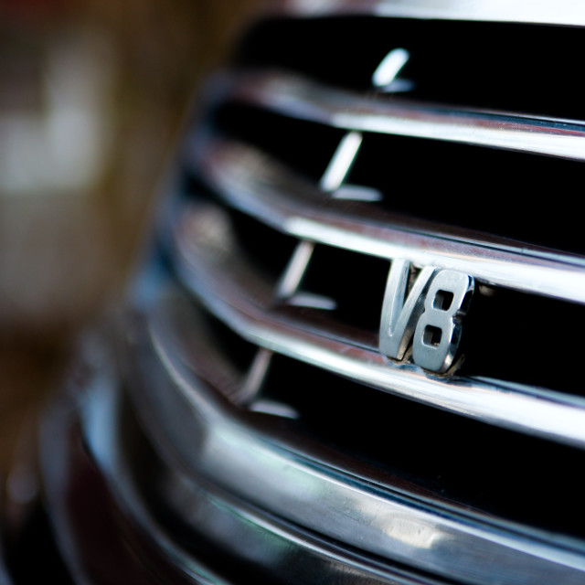 """AMG V8 Mercedes"" stock image"