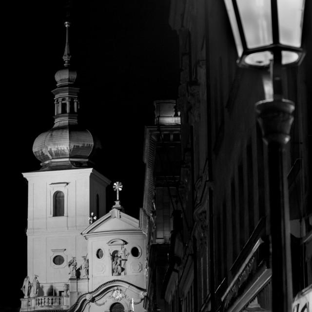 """Prag Night"" stock image"