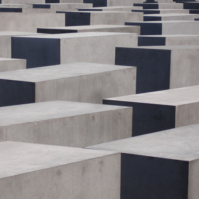 """""""Memorial to the Murdered Jews of Europe"""" stock image"""