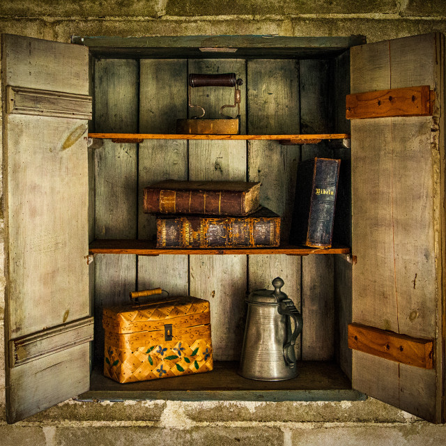 """""""Old Cupboard"""" stock image"""