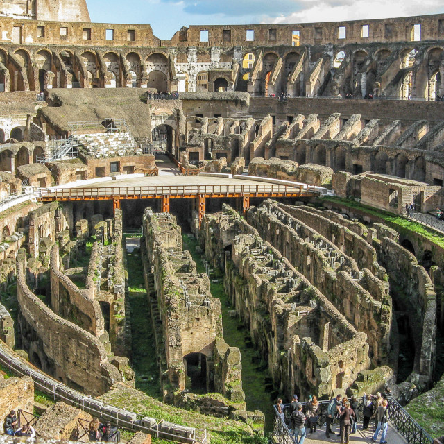 """Colosseum or Coliseum"" stock image"