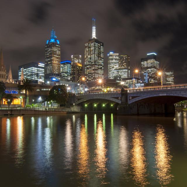 """Dazzling - Melbourne, Australia"" stock image"