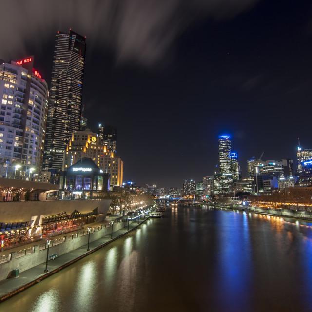 """Yarra & the City - Melbourne, Australia"" stock image"